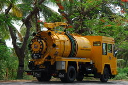 Combi Whale Super Suction Vehicle Truck