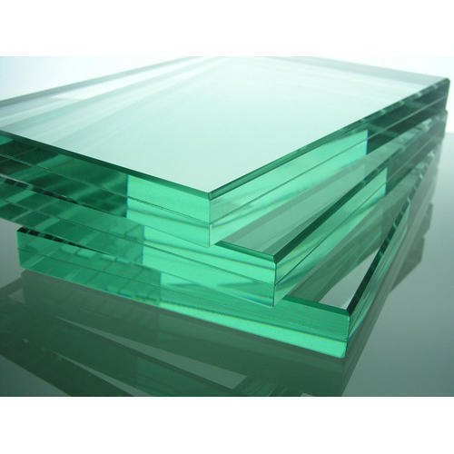 Transparent Custom Flat Toughened Glass, Thickness: 10.0 mm