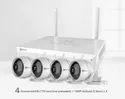 Ezviz Wireless Cctv Camera Kit, Camera Range: 15 To 20 M