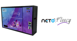 Nete Fleecy Sanitary Napkin Vending Machine, 5 Rs., for Schools & Colleges
