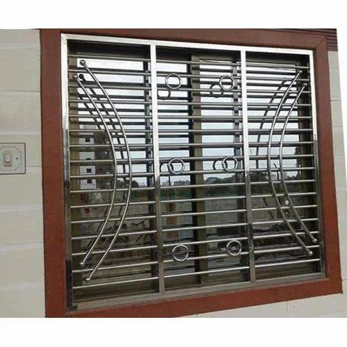 SS Window Grill at Rs 450 /square feet | Kopar Khairane ...