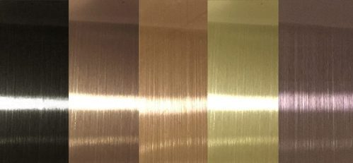 304 Decorative Stainless Steel Gold Sheet Thickness 1 2
