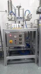 Cream Tube Filling Sealing & Trimming Machine