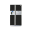 Videocon Black 637 Side By Side Refrigerator