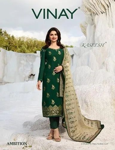 a7d113a8e VINAY FASHION LLP VINAY FASHION AMBITION KASEESH FANCY FABRIC SUITS ...