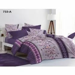 Sig. Magnum Cotton Floral Print Bed Sheet
