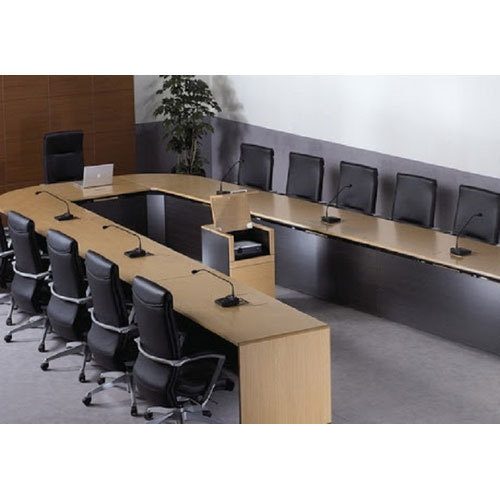 Modular Conference Room Table Set At Rs Set Conference Room - Conference room table set