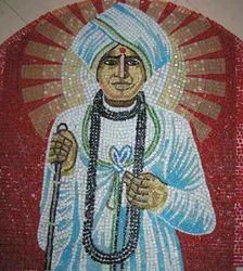 Hand Cut Glass Mosaic Tile Mural, 4mm