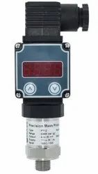 Mass Pressure Transmitter With LED Inbuilt Display
