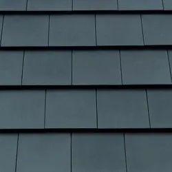 Flat tile Grey Ceramic Color Flat Roof Tile