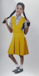 Summer, Winter Cotton Girls School Uniform