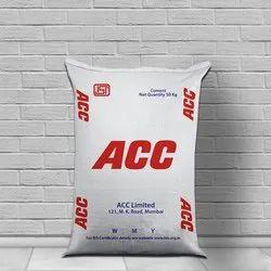 ACC 53 Grade Cement, Cement Grade: Grade 43, Packaging Size: 50 Kg