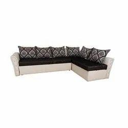 L Shape Modern 6 Seater Corner Sofa Set