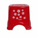 Colored Printed Plastic Bathroom Stool