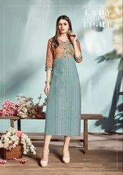 Pr Fashion Launched Semi-Casual Wear Readymade Kurti