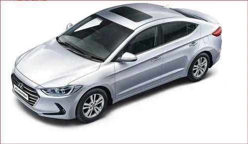 White Hyundai New Elantra Car Nrl Cars Private Limited Id 19149364888
