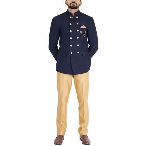 b588b0d9f6 Italian Fabric Wedding Wear Mens Jodhpuri Suit, Rs 5500 /piece | ID ...