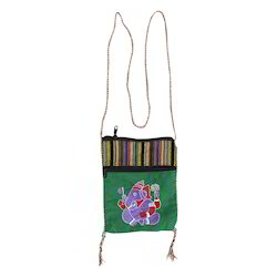Ganesha Embroidered Sling Bag