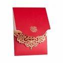 Kraft Paper Wedding Invitation Card
