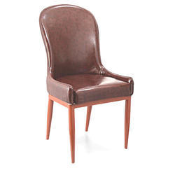 SPS-307 Brown Leather Banquet Chair