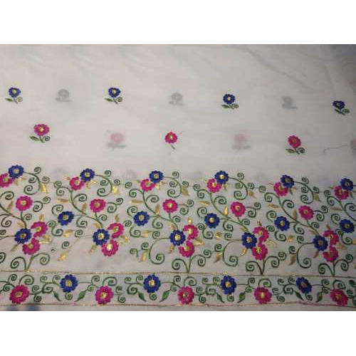 Embroidery Designer Mekhela Chadar, Packaging Type: Packet