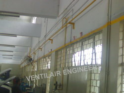 Laying Compressed Air Pipe Line