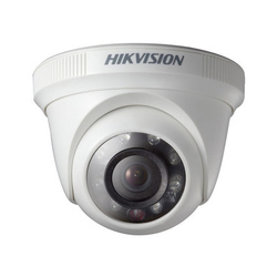 1.3 MP Hikvision CCTV Dome Camera, For Outdoor Use