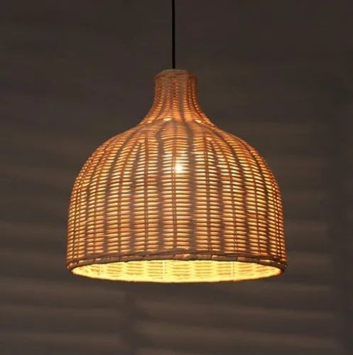 Total Furnishing Handmade Bamboo Hanging Ceiling Lamp Beige At Rs 1500 Piece Ceiling Lamps Id 21838145288