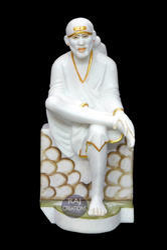 Marble Sai Baba Big Statue