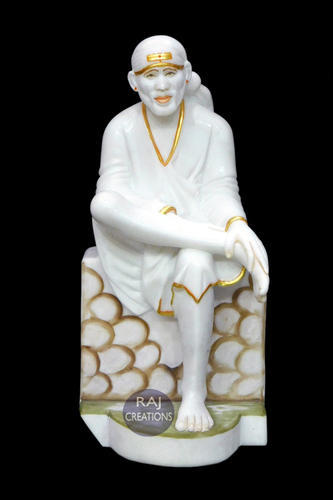 Marble Sai Baba Statue Marble Sai Baba Big Statue