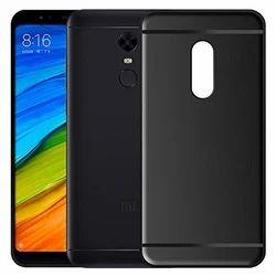 Black Matte For Xiaomi Redmi Note 5 Back Cover Candy Soft Case, Xiaomi Mi Redmi