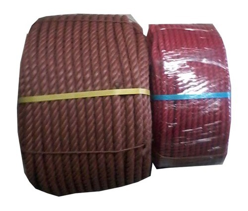 Blue And White Polythene Monofilament Rope, For Marine And Rappelling