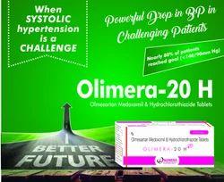 Olmesartan Medoxomil 20 mg Hydrochlorothiazide 12.5 mg Tablet