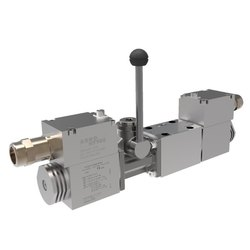 Explosion Proof, Auxiliary Lever Override for Solenoid Operated Valves
