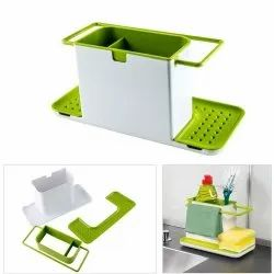 3 In 1 Plastic Sink Caddy Organizer