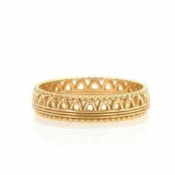 Tiara Plain Gold Band Ring