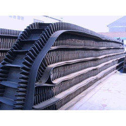 Rubber Conveyor Belts - High Angle Side Walled Belts