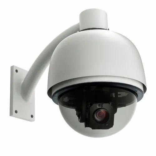 Analog Camera 2 MP PTZ Dome Security Camera