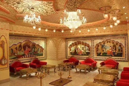 Gautamdecor Pub Interior Decorator, Size: 1500 Sq Ft