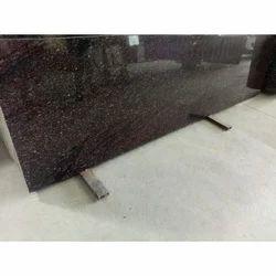 Brown Granite Slab, 12 To 16 Mm