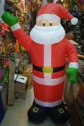 Inflatable Santa Claus Figurine 6 ft