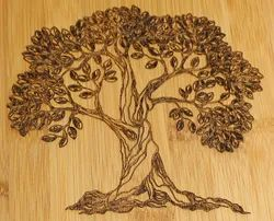 5 Mm MDF Wood Engraving Services, in Pune, West India