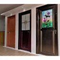 Decorative Aluminium Door