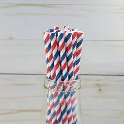 Printed Paper Straw