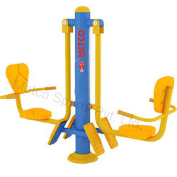 Metco-9101 Leg Press Machine, Outdoor Gym Equipment