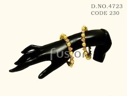 Antique Traditional Pearl Wedding Bangles
