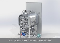 Fuilly Automatic Rectangular Autoclave