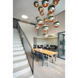 Hanging Design Glass Chandelier