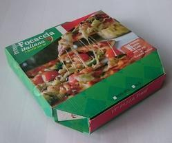 Printed Corrugated Pizza Box