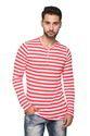 Full Sleeve Men's Striped T Shirt